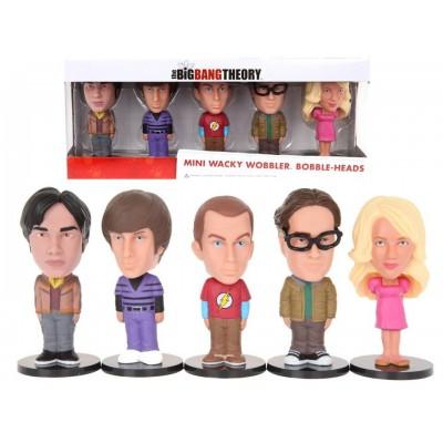 Set Mini Bobble-head The Big Bang Theory by Funko