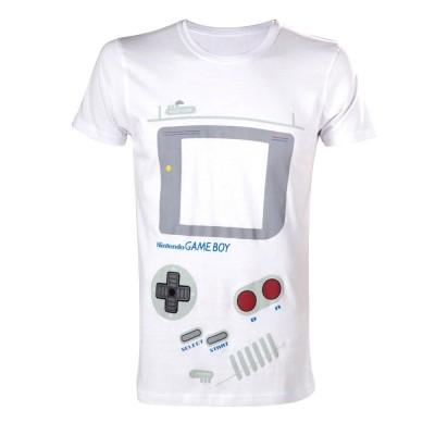 T-shirt Nintendo Game-Boy console costume maglia Uomo ufficiale